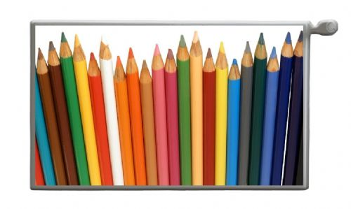 COLOUR PENCILS Magnetic Radiator Cover